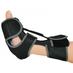 Noćna ortoza za padajuće stopalo s uloškom za hlađenje | veličina S/M