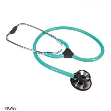 Turquoise stethoscope
