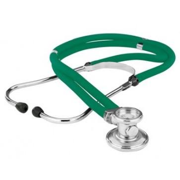 Green stethoscope