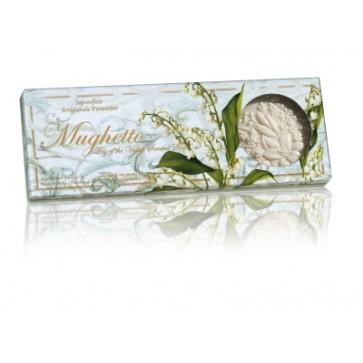 Okrugli sapuni s mirisom đurđice   3 x 125g