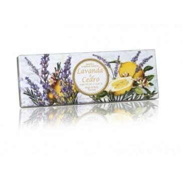 Sapun s mirisom Lavande i Cedra, okrugli | pakovanje 3 x 100 g