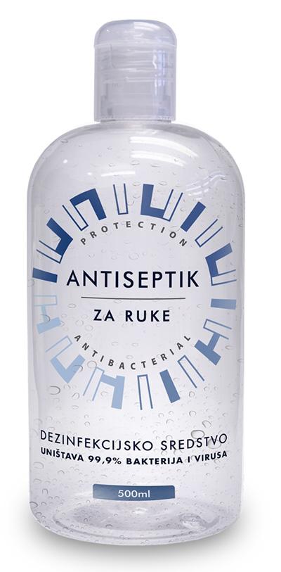 Antiseptik za dezinfekciju ruku - pakovanje 500 ml