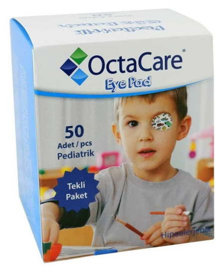 Dječji flasteri za oko, za dječake, 50 komada u pakiranju