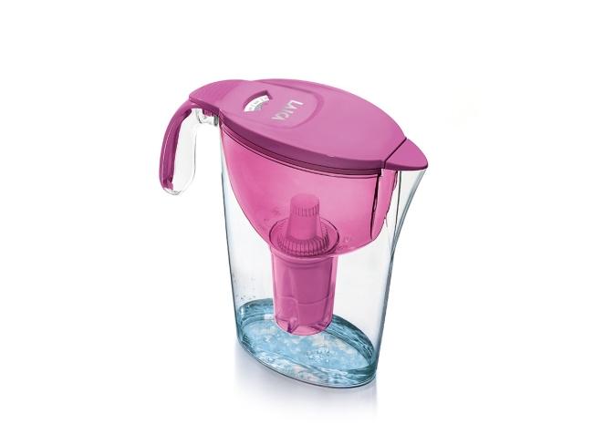 Laica Multi-flux Fresh line vrč za vodu ružičasti