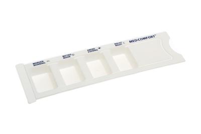 Dispenzer lijekova s 4 velika odjeljka