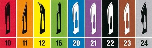 Jednokratni sterilni nožići Swann-Morton