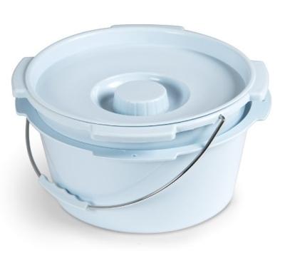 Posuda s poklopcem i ručkom za toaletni stolac RP780